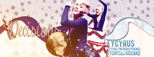 Miley Cyrus Decisions Facebook by tayloralwaysperfect