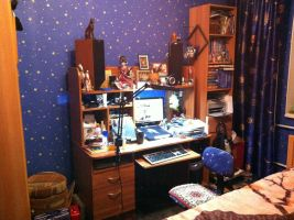 """my """"working space"""" by SoulcrackeD"""