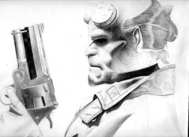 Hellboy W.I.P 3 by naiya1982