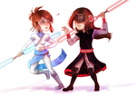 CM: Anniva and Rykel by AurionPride