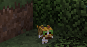 Minecraft - Natural baby ocelot by Pormcorn