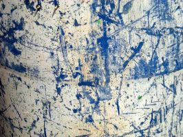 Stock Texture - Blue and White Grunge Paint by rockgem