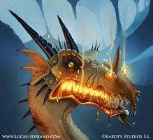 DraconianWars:Rabid Old Dragon by Cowboy-Lucas