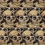 Skulls Pattern by MY-METAL-HAND