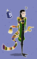 Doctor Loki by Hedgehogscanfly