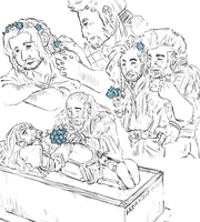 the Hobbit : forget me nots by LadyNorthstar