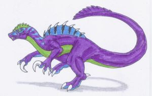 Valdesaurus by Scatha-the-Worm