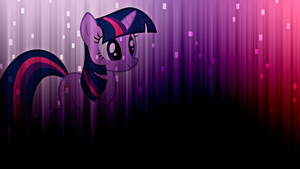 Twilight Sparkle Wallpaper by alanfernandoflores01
