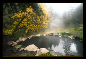 Hot Spring in Autumn by randru