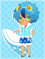 Froakie gijinka adopt -closed- by poffinbox