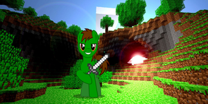Carmo In MineCraft by sjf95fighter