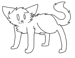 Free Cat Base!(Works in MS Paint too!) by Kozakuri