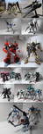 Gunpla Acquisitions Early January 2014 by Blayaden
