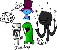 More Old doodles. by SCP-079
