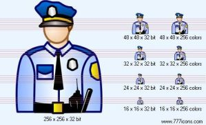 Police-officer Icon by phorago