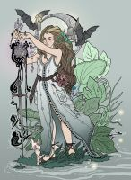 Samhain Light Witch by give-dreams-wings
