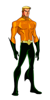 DC New 52:Aquaman Animated by kyomusha