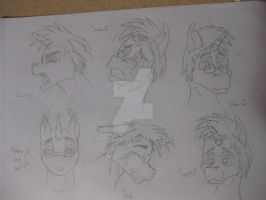 Face expressions 2 by GarudaX