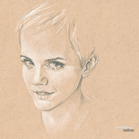 Emma Watson #Sketchbook by dankershaw