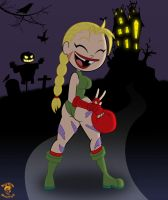 Halloween '14: Eris as Cammy by TheEdMinistrator765