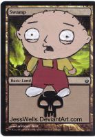 Altered Magic Card Stewie by JessWells