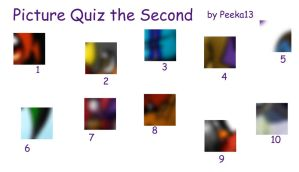 Picture Quiz the Second by Peeka13