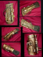Steampunk Cyborg Arms by Pirkleations