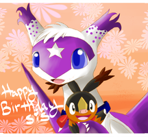 Happy Birthday sis Midnight by kiraradaisuki