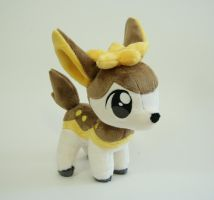 Deerling Chibi Plush by Yukamina-Plushies