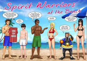 Spirit Warriors At The Beach by SpiritWarriors
