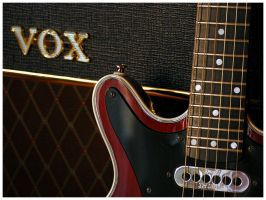 Red Special and AC30 No. 3 by Fox82
