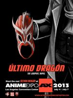 Anime Expo Ultimo Dragon Poster 1 by WiL-Woods