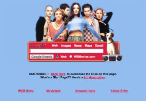 The Empire Records Startpage by AwesomeStart