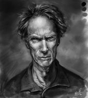 Clint Eastwood by Bing-Ratnapala