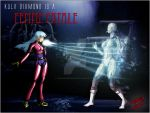 Femme Fatale - Kula Diamond final by TheInsaneDarkOne