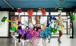 Love Live! Paradise Live cheerleader cosplay by Achico-Xion