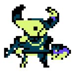 Plague Knight Pridemoore Keep sprite by WaywardPlatypus
