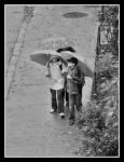 Walking in the Rain.2 by AlexAnaPhotography