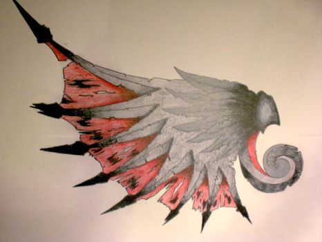 Wing Tattoo Concept by midnightsun85