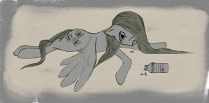 Fluttershy's Overdose by AllyXCat3