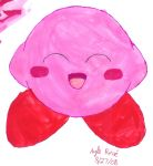 Watercolor Kirby by pikagal444