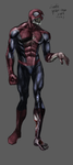 zombie spiderman by Real-V-EAT