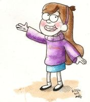 Mabel Pines [dedo31] by aberrentideals