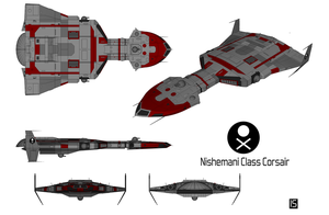 Nishemani Class Corsair Technical View by biomass