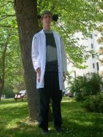 Dr Stein Cosplay by ObliviousGod