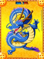 Blue Shenlong DB by cdzdbzGOKU
