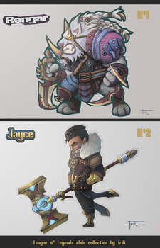 League of Legends Chibi collection. by Blindconcept