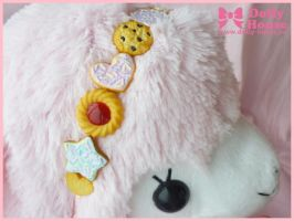 Sweet Cookies Parade Headband by Dolly House by SweetDollyHouse