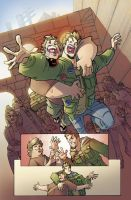 Fanboys vs Zombies interior pg2 by theFranchize