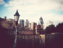 The Tower of London by LittleRedHatter